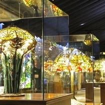 【ニューヨークランプミュージアム】目を見張るような鮮やかな色彩