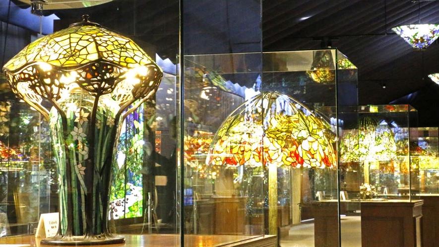*【ニューヨークランプミュージアム】目を見張るような鮮やかな色彩