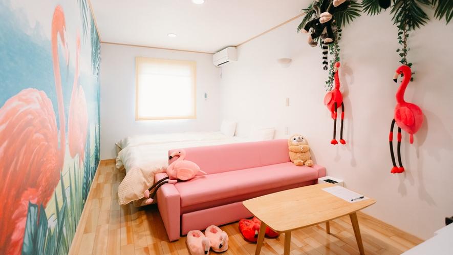 *【ツインルーム(トイレ付)一例】2019/10/7リニューアル!※客室によりイメージが異なります