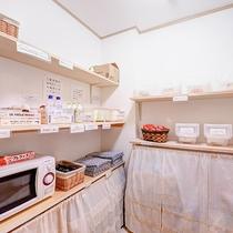 *【ライブラリー】ベビー用品:哺乳瓶用洗剤・煮沸器・各メーカーのおむつなどご用意しております。
