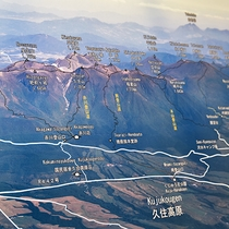 *【登山案内パネル】ロビーには登山案内パネルをご用意しております。