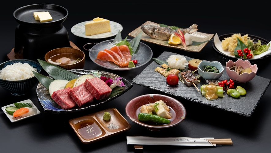 *【おおいた和牛ステーキ】ステーキのほか竹田産の食材