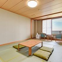 *【和室10畳】客室からは阿蘇五岳をご覧いただけます。