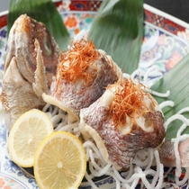 別注/真鯛の塩焼き 一例