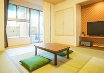 露天風呂付客室和室 ※イメージ
