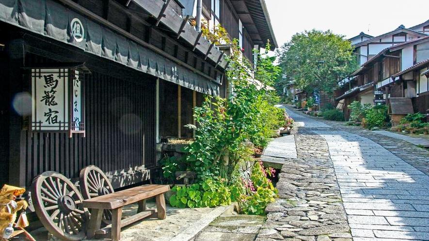 馬籠宿(中山道宿場町)