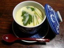 当館特製 茶碗蒸し (ちょっとリッチにお刺身付き2食付プラン限定)