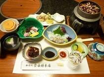 登喜将 タコ料理満喫コース