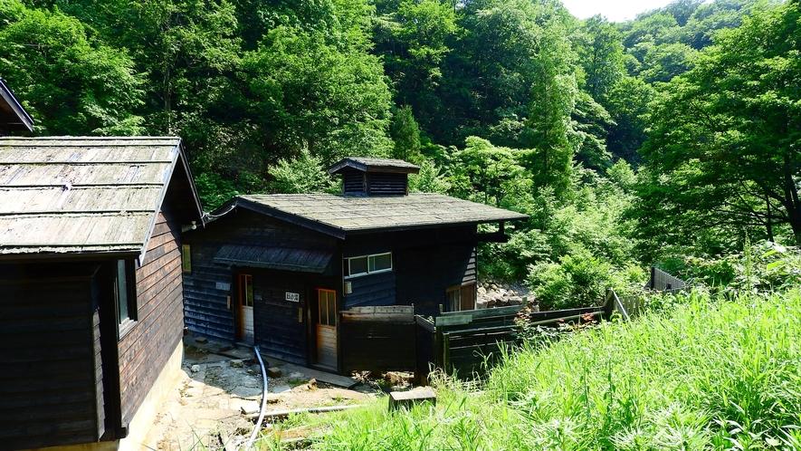 *【湯小屋】湯治気分を味わえる、昔ながらの湯小屋。