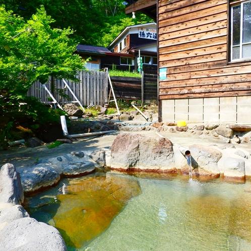 *【露天風呂】静かな山間の温泉は、秘湯感たっぷり!