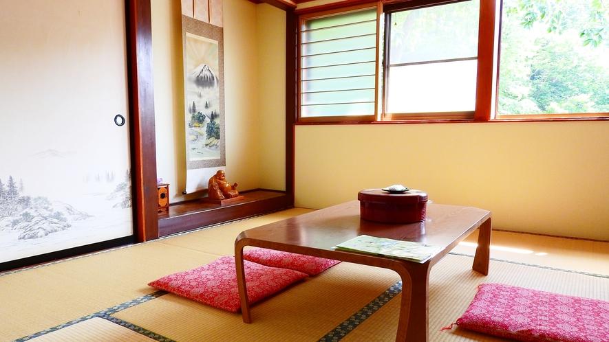 *おまかせ和室(一例)ゆったり過ごせる和室。人数に合わせてお部屋をご案内いたします。