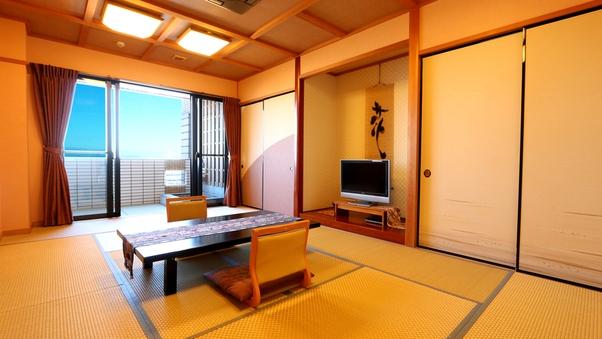 『渚砂』海一望露天風呂付き和室12畳