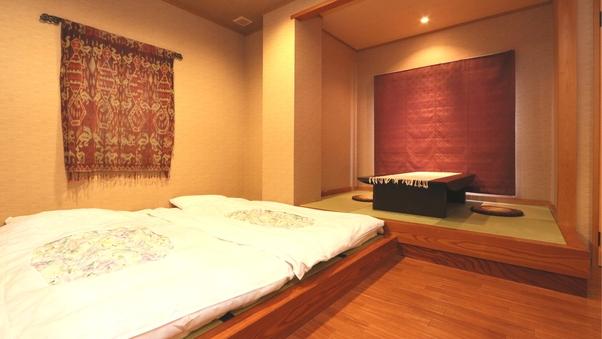 『花』山側アジアンモダンのデザインルーム
