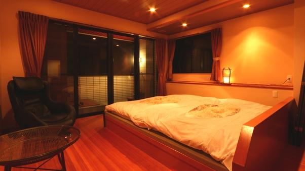 『高砂』海一望露天風呂&ベッドの和洋室22畳