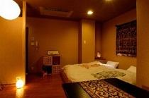 当宿唯一の山側デザインルーム約12畳「花」