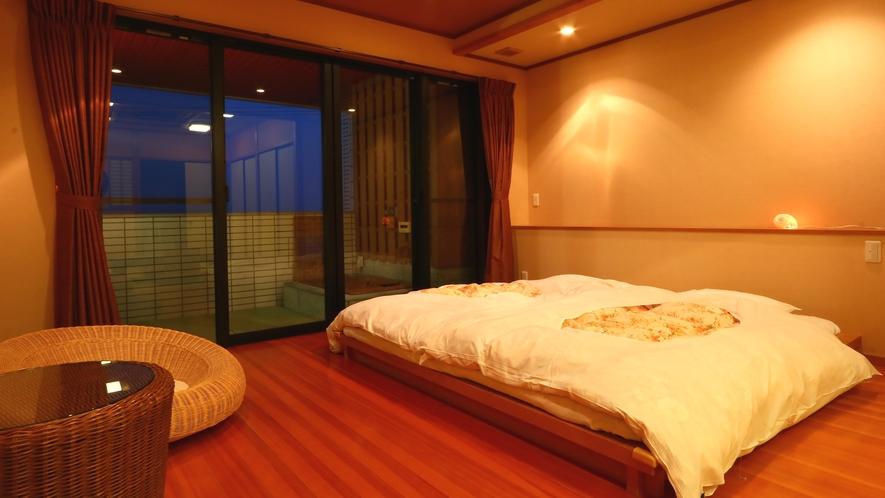 露天風呂付客室◆白砂
