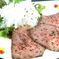 珍しい知多牛のローストビーフ♪甘みある旨味が特徴です