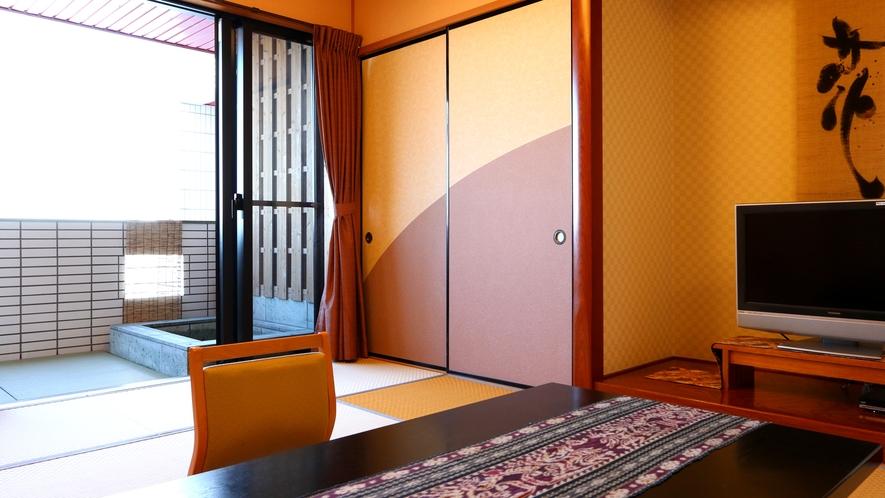 露天風呂付客室◆渚砂