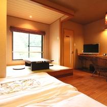 客室『花』●アジアンモダンなデザインルームです