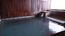 【貸切風呂】貸切でご利用いただけるお風呂は源泉かけ流しの天然温泉