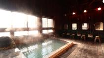 【女湯】のんびりと蔵王のかけ流し温泉をお楽しみ頂けます