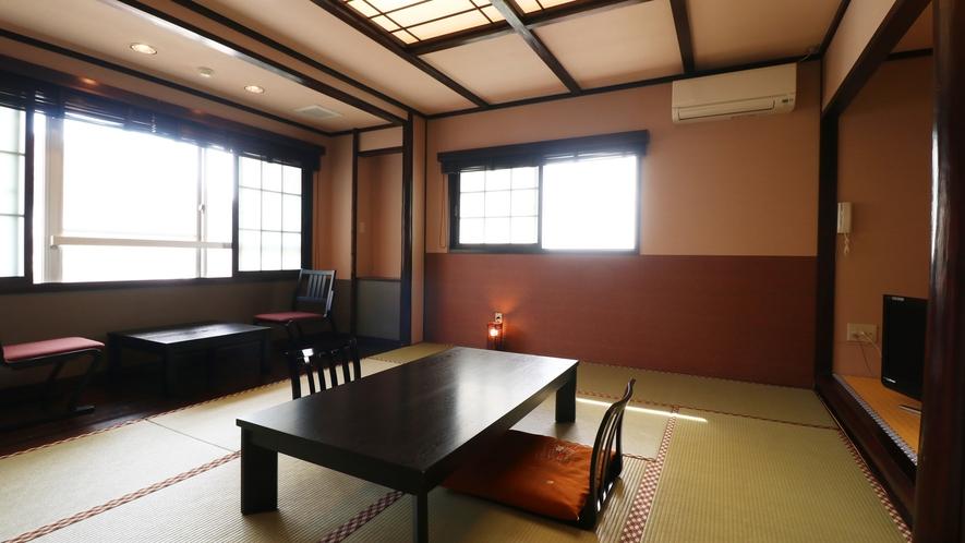 【特別室】広々とした和室でゆっくりとお寛ぎの時間