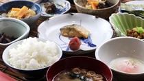 【朝食】朝の始まりは和食で