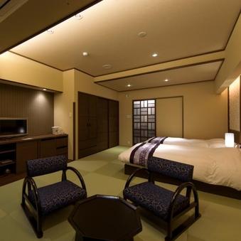 リニューアル露天風呂付き客室 ベットタイプ・14畳・室内禁煙