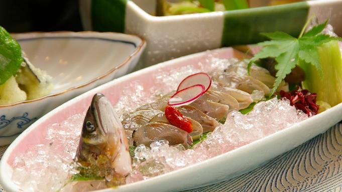 【2食付:鮎三昧】◎夏季限定◎美山川の絶品「鮎」。趣向を凝らした鮎料理をお召し上がりください♪