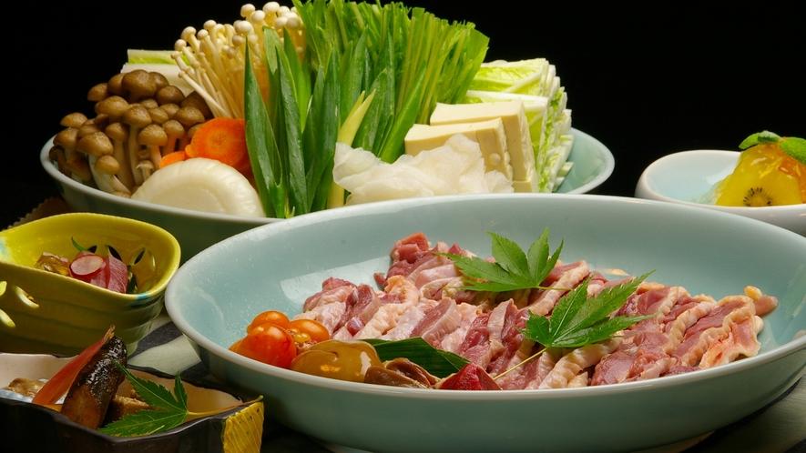 *京地鶏のすき焼き(一例)
