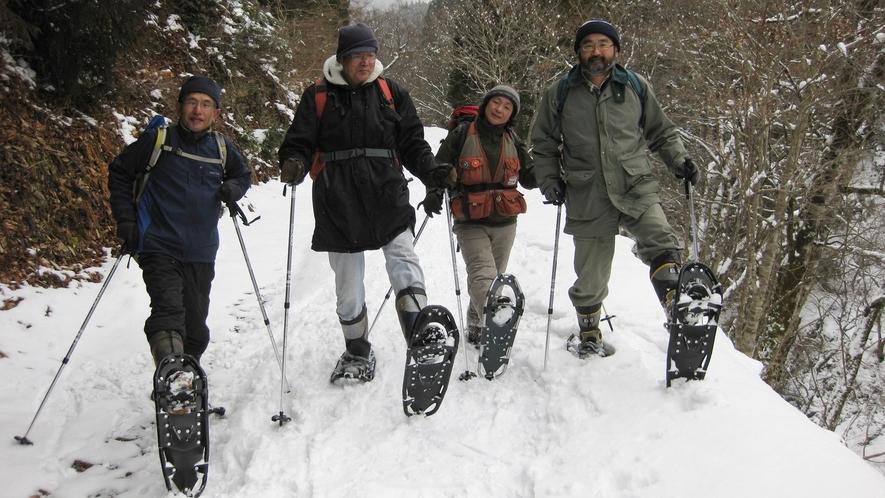 *冬のネイチャーガイドハイキング