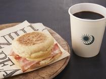 朝食メニュー⑥あさのラテセット