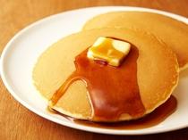 朝食メニュー④豆乳パンケーキセット