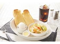 朝食メニュー①トーストセット