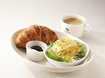 朝食メニュー⑤クロワッサンセット