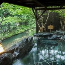 2016年発表!!^^美肌の温泉地ランキング全国第1位 (^^♪。。。殿方露天風呂。。。『石庭の湯』
