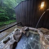 和風貸切露天風呂。。。『木曽の湯』。。。