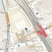 ⑥【さいたま新都心駅 西口】NTTドコモビル北側 10:40→→【湯西川温泉】→→→ 14:30頃着