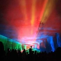 湯西川温泉の夏はイベントも盛りだくさん!夏休み限定『オーロラファンタジー』に感動~内容充実ですッ!!