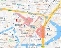 ①【横浜駅 西口】野村證券横浜支店前 9:40発→→【湯西川温泉】→→ 14:30頃着
