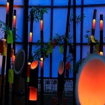 """7/7~8月初旬の""""竹の宵祭り""""涼しい夏の宵に、かぐや姫の世界を再現!ロマンチックなお祭りです。。。"""