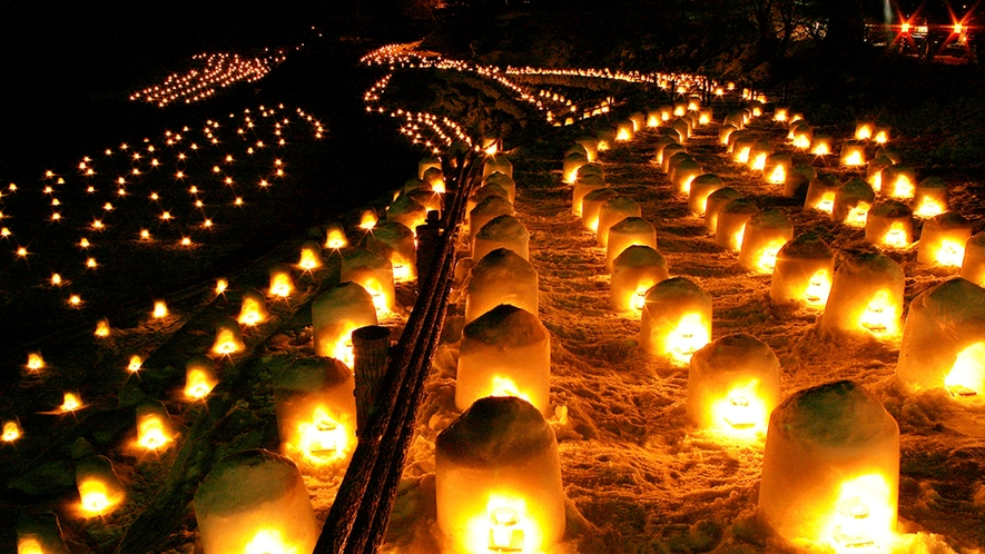 日本夜景遺産【歴史文化夜景遺産】にも認定され、県内の冬のイベントとしては知名度・規模ともに最大級~♪