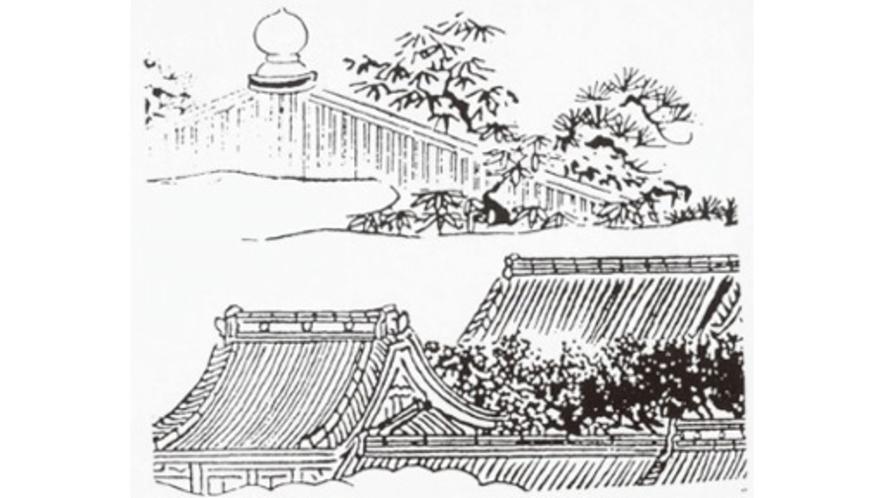 【南北朝時代~室町時代】建武2年(1335)分捕高名に「下野国の大類五郎左衛門尉以下一党」と見える。