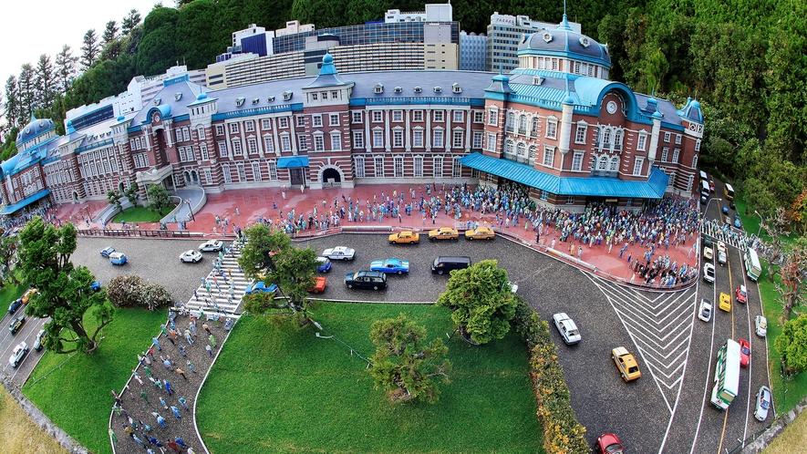 『東武ワールドスクエア』47の世界遺産を含む102点!!1日でめぐる世界一周の旅が体験できます。