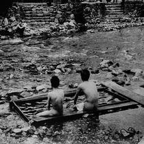 古の湯(150年程前)の当湯屋(沐浴)名称「御所の湯」変わることなく今に伝えております。