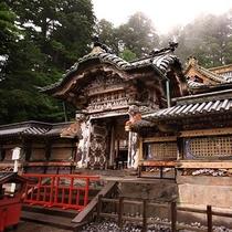 【日光東照宮】は元和(げんな)3年(1617)徳川初代将軍徳川家康公を御祭神におまつりした神社です。