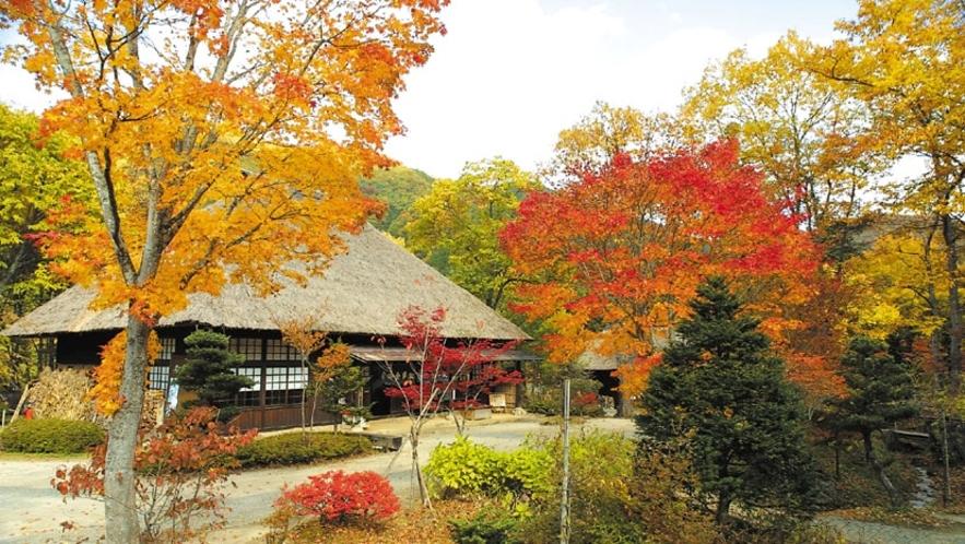 """古き良き時代への""""時感(じかん)旅行""""広大な敷地に~昔懐かしい~日本の原風景を再現しました(^^♪"""