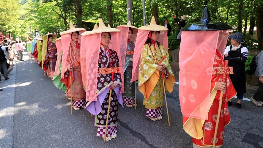 平家大祭は6月第1土・日曜日に開催!!平家の武者や姫に扮した総勢200名余が練り歩く「平家絵巻行列」