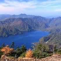 【中禅寺湖】2万年前に男体山の噴火でできた堰止湖です!!日本一標高の高い場所にある湖でもあります。