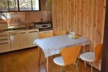 自炊を楽しめるキッチン(みによん館)